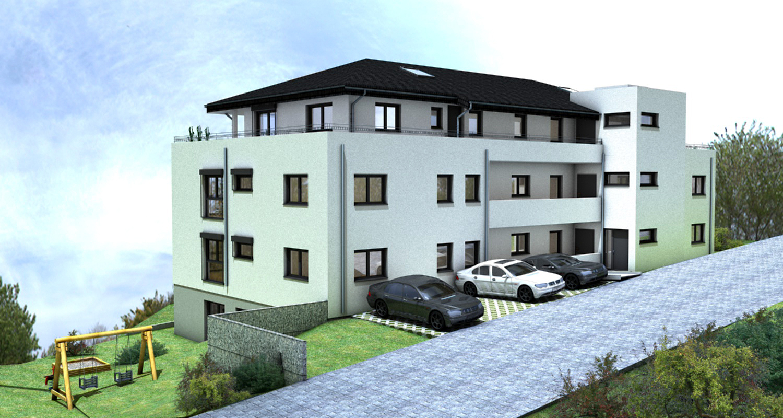 architekton christina jonas mehrfamilienhaus mit 9 we. Black Bedroom Furniture Sets. Home Design Ideas